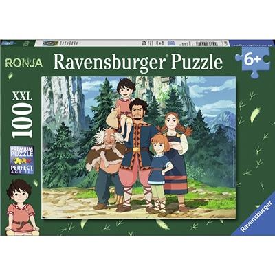 Ravensburger Pussel 100 XXL Bitar Ronja Rövardotter, 109548