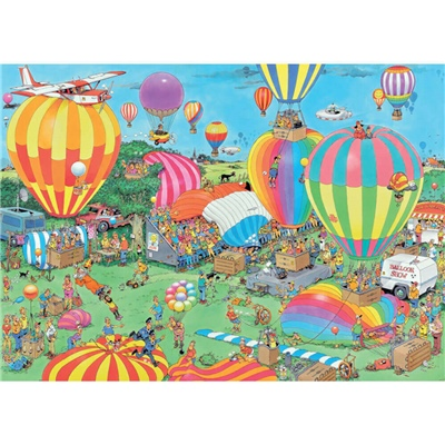 Jan van Haasteren Pussel 1000 Bitar The Balloon Festival, 19052