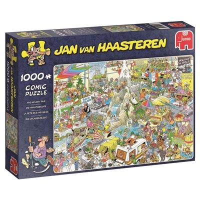 Jan van Haasteren Pussel 1000 Bitar The Holiday Fair, 19051