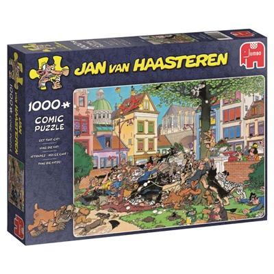 Jan van Haasteren Pussel 1000 Bitar Get that Cat!, 19056