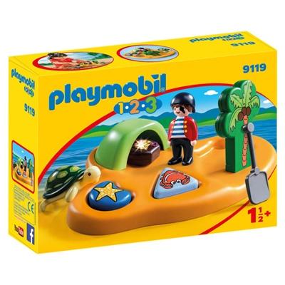 Playmobil 1-2-3 Piratö, 9119