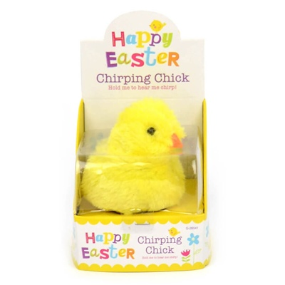 Happy Easter Chirping Chick, 26184