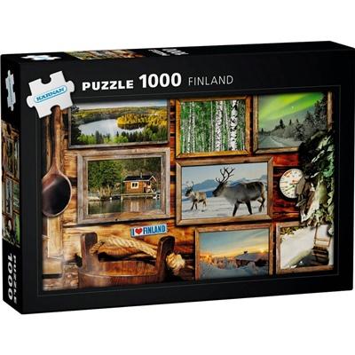 Kärnan Pussel 1000 Bitar Finland, 580020