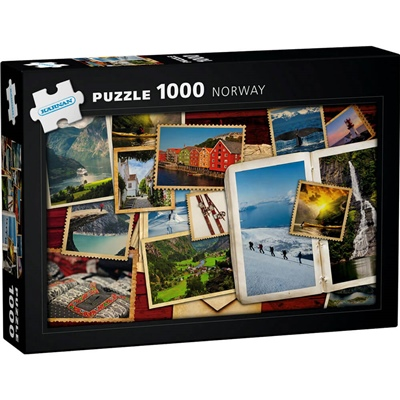 Kärnan Pussel 1000 Bitar Norway, 580029