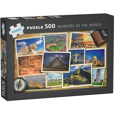 Kärnan Pussel 500 Bitar Wonders of the World, 570004