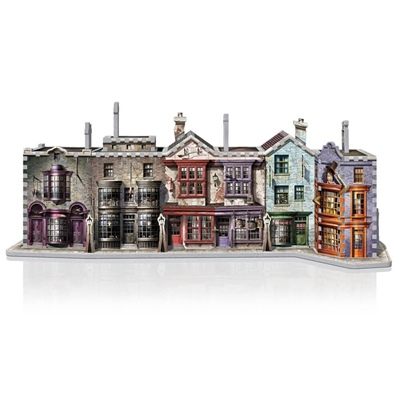 Wrebbit 3D Pussel 450 Bitar Harry Potter Diagon Alley, 01010W