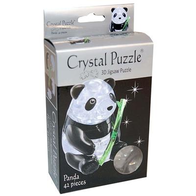 Crystal Puzzle 3D Pussel 42 Bitar Panda, 28478