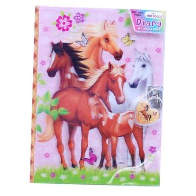 Dagbok 3D Häst, 3749