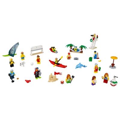 LEGO City Figurpaket Kul på Stranden, 60153