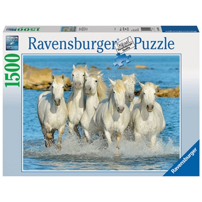 Ravensburger Pussel 1500 Bitar Trotting in the Surf, 162857