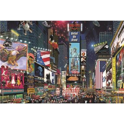 Jumbo Pussel 1500 Bitar Time Square New York, 18583