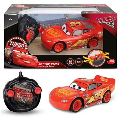 Dickie Toys Disney Cars 3 R/C Turbo Racer Lightning McQueen, 203084003
