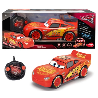 Dickie Toys Disney Cars 3 R/C Hero Lightning McQueen 1:12, 203088001