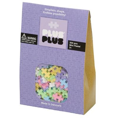 Plus Plus Mini Pastel 300 Delar, 3352M