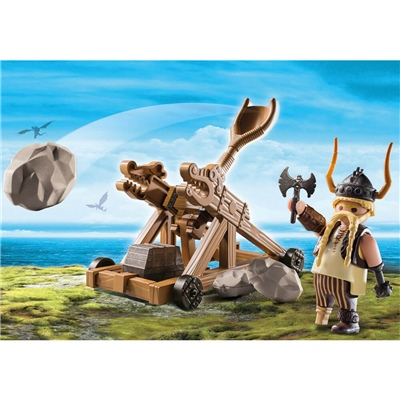 Playmobil DRAGONS Gape med Katapult, 9245