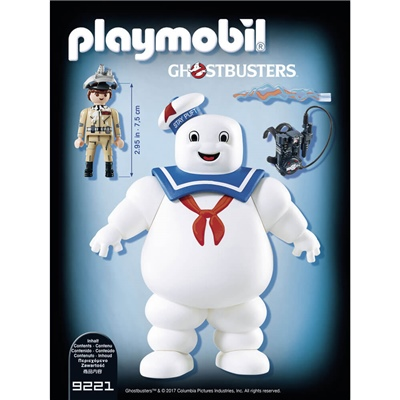 Playmobil Ghostbusters Stay Puft Marshmallow Man, 9221