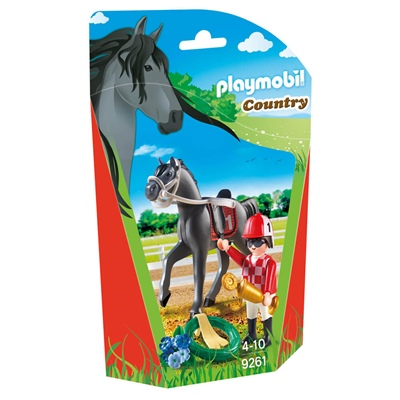Playmobil Jockey, 9261