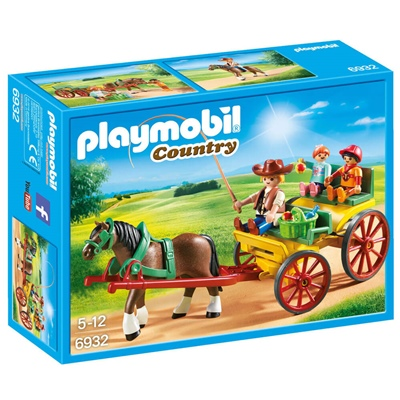Playmobil Hästvagn, 6932