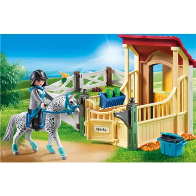Playmobil Hästbox Appaloosa, 6935