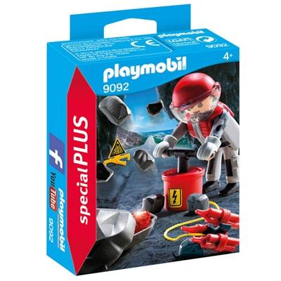 Playmobil Bergsprängare med Spillror, 9092P