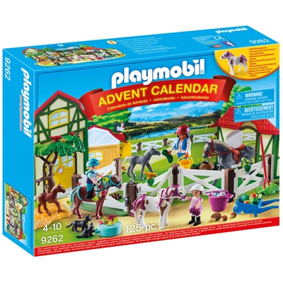 Playmobil Adventskalender Ridanläggning, 9262