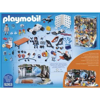 Playmobil Adventskalender Spy Team Verkstad, 9263