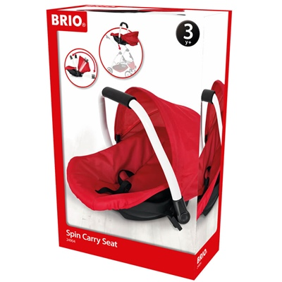 BRIO Spin Doll Carry Seat Röd, 24904
