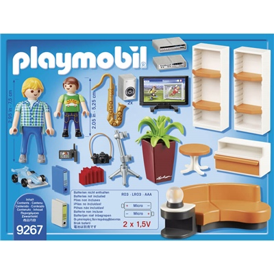 Playmobil Vardagsrum, 9267