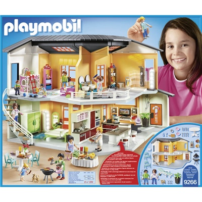 Playmobil Modernt Bostadshus, 9266