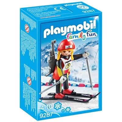 Playmobil Skidskytt, 9287