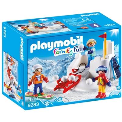 Playmobil Snöbollskrig, 9283