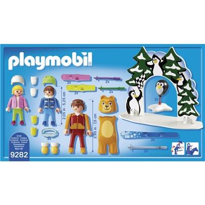 Playmobil Skidskola, 9282