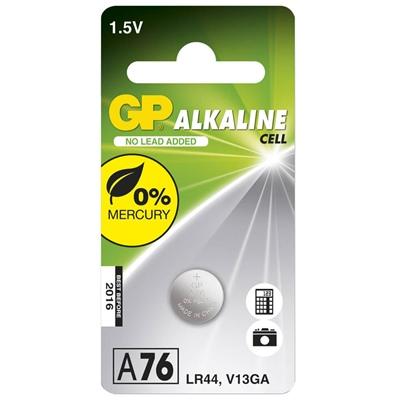 GP Knappcellsbatteri LR44/A76, A76-C1
