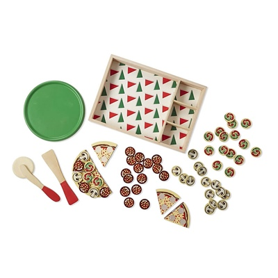 Melissa & Doug Wooden Pizza, 10167