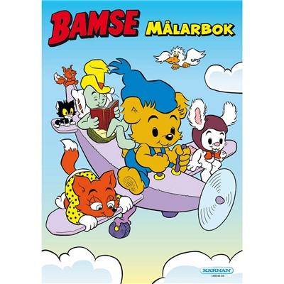Kärnan Målarbok Bamse, 148044