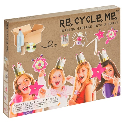 ReCycleMe Princess Party 4-Pack, 73.1110