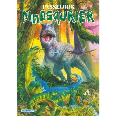 Kärnan Pysselbok Dinosaurier, 248178