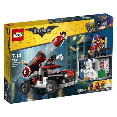 LEGO Batman The Movie Harley Quinn™ Kanonattack, 70921