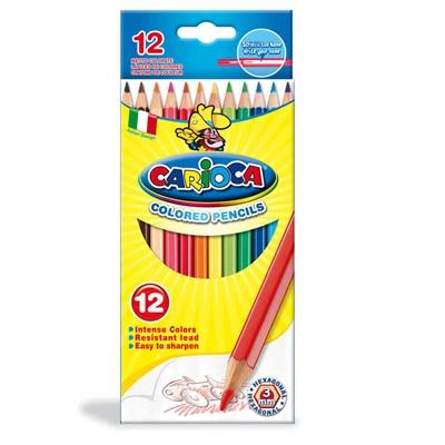 Carioca Träfärgpennor 12-Pack, 40380
