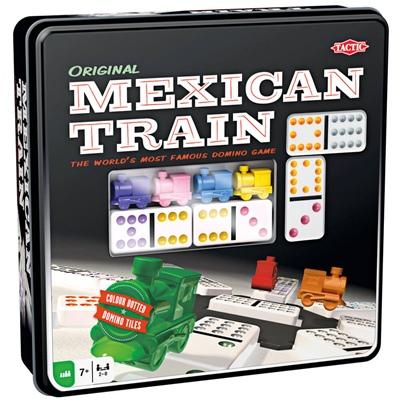 Tactic Mexican Train i Plåtlåda, 54005T