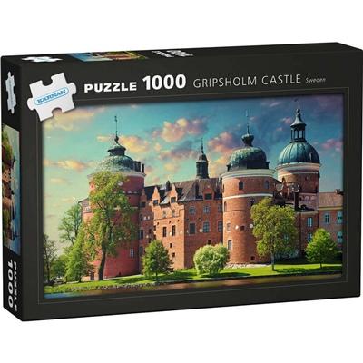 Kärnan Pussel 1000 Bitar Gripsholm Castle Sweden, 580031
