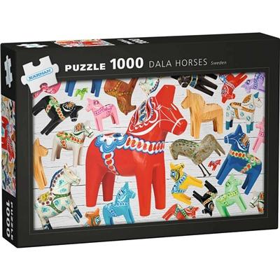 Kärnan Pussel 1000 Bitar Dala Horses Sweden, 580036