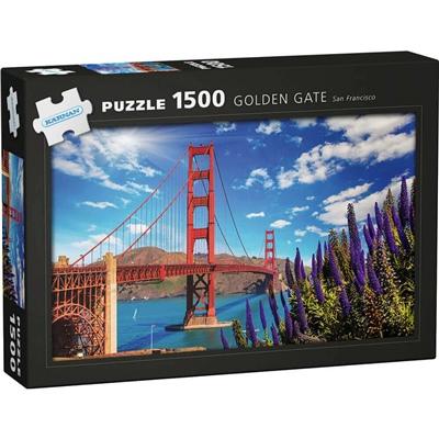 Kärnan Pussel 1500 Bitar Golden Gate San Francisco, 590015