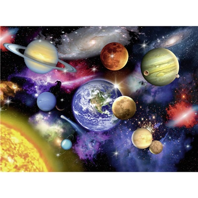 Ravensburger Pussel 300 XXL Bitar Solar System, 132263