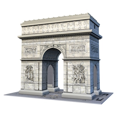 Ravensburger 3D Pussel 216 Bitar Arc de Triomphe Paris, 125142