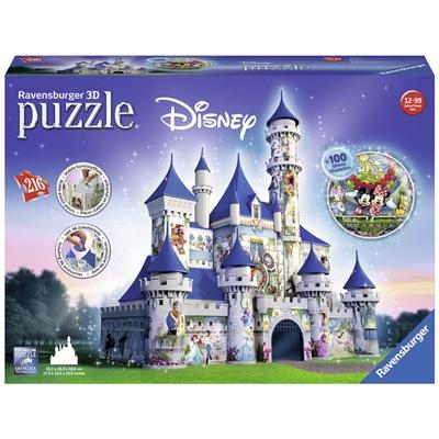 Ravensburger 3D Pussel 216 Bitar Disney Castle, 125876