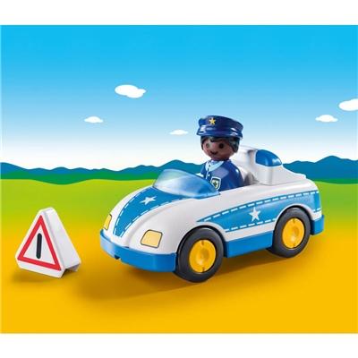 Playmobil 1-2-3 Polisbil, 9384