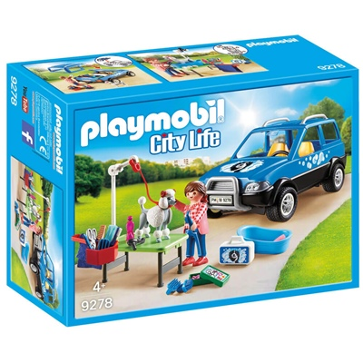 Playmobil Flyttbar Hundsalong, 9278