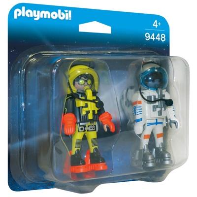 Playmobil Duopack Rymdfarare, 9448P