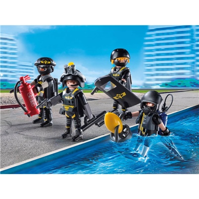 Playmobil Insatsstyrka, 9365